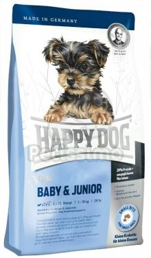 Mini Baby Junior HAPPY DOG 1-12 miesięcy 4 kg