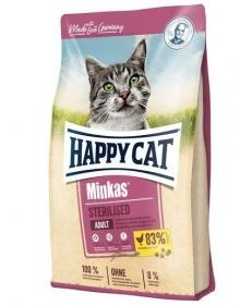 HAPPY CAT Minkas STERILISED z Drobiem  10 kg